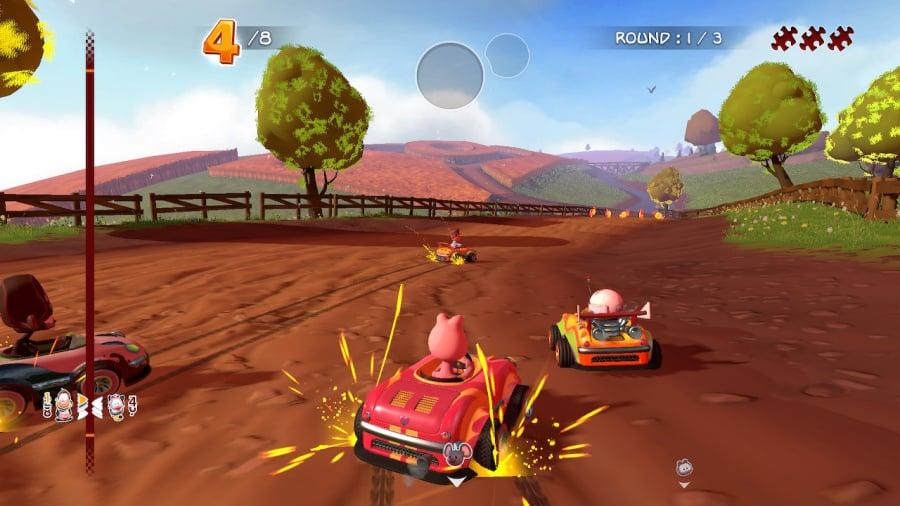 Garfield Kart Furious Racing Review - Screenshot 2 of 5