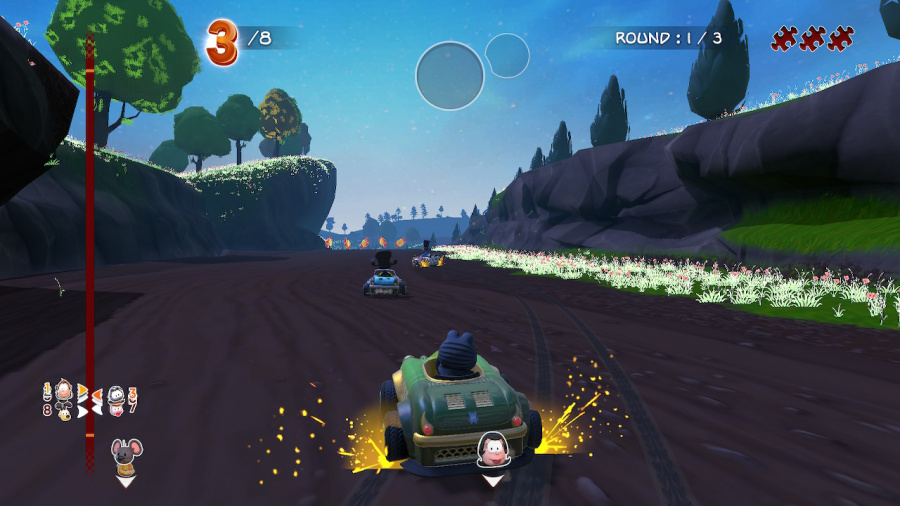 Garfield Kart Furious Racing Review - Screenshot 1 of 5