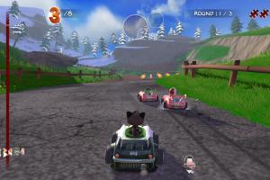 Garfield Kart Furious Racing Screenshot