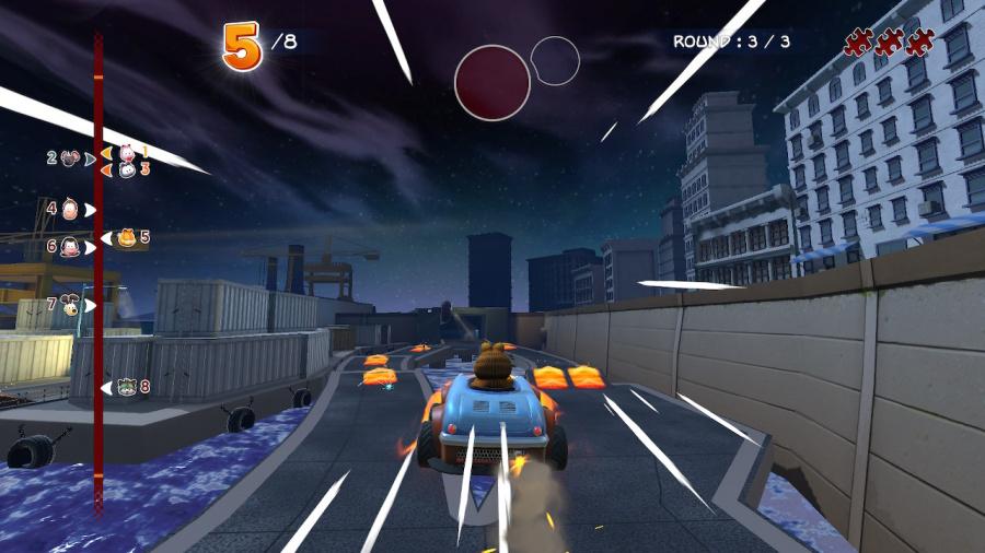 Garfield Kart Furious Racing Review - Screenshot 4 of 5