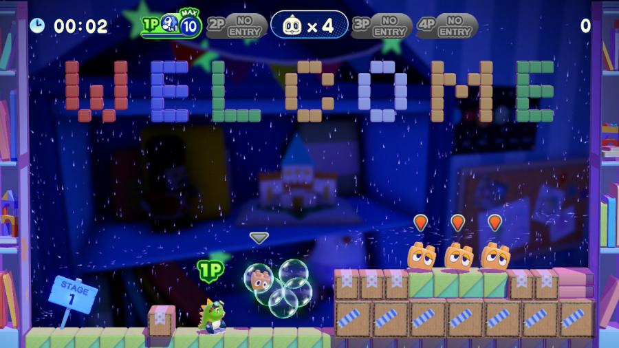 Bubble Bobble 4 Friends Review - Screenshot 1 of 4