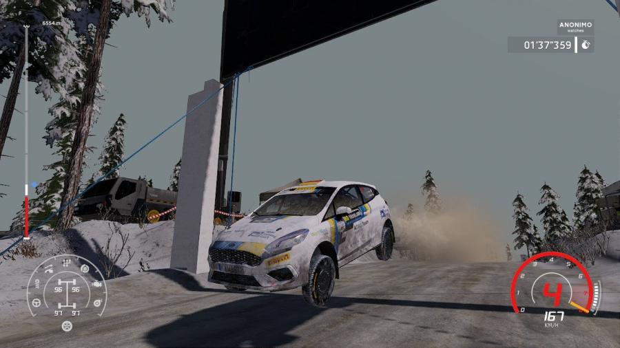 WRC 8 FIA World Rally Championship Review - Screenshot 1 of 4