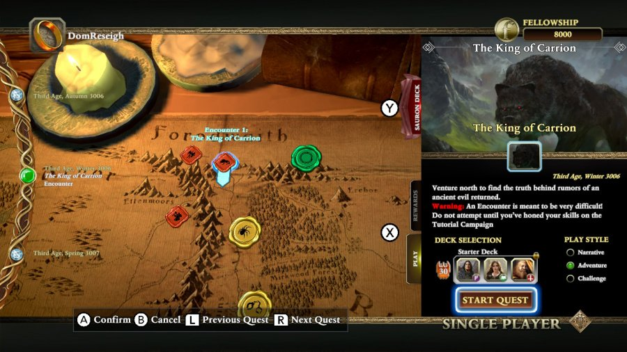 The Lord of the Rings: Adventure Card Game Review - Screenshot 4 of 4