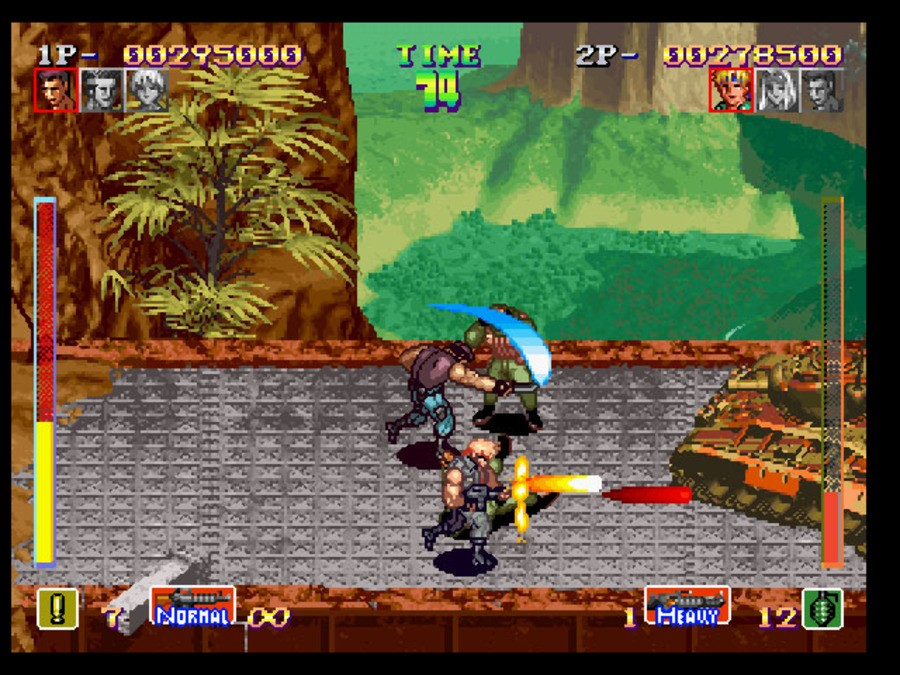 SNK Arcade Classics Vol. 1 Screenshot