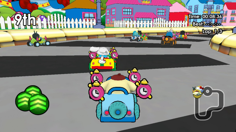 Hello Kitty Kruisers Review - Screenshot 4 of 4
