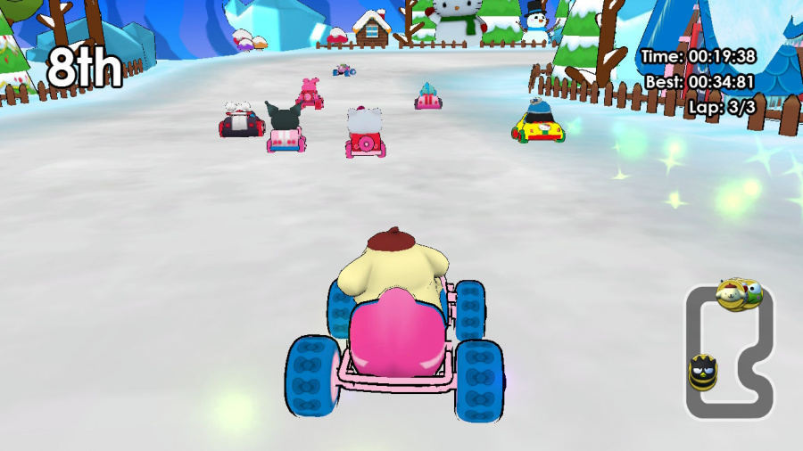 Hello Kitty Kruisers Review - Screenshot 1 of 4