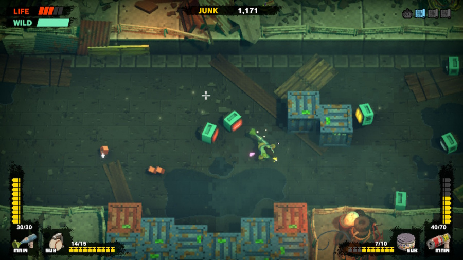 Monkey Barrels Review - Screenshot 1 of 4