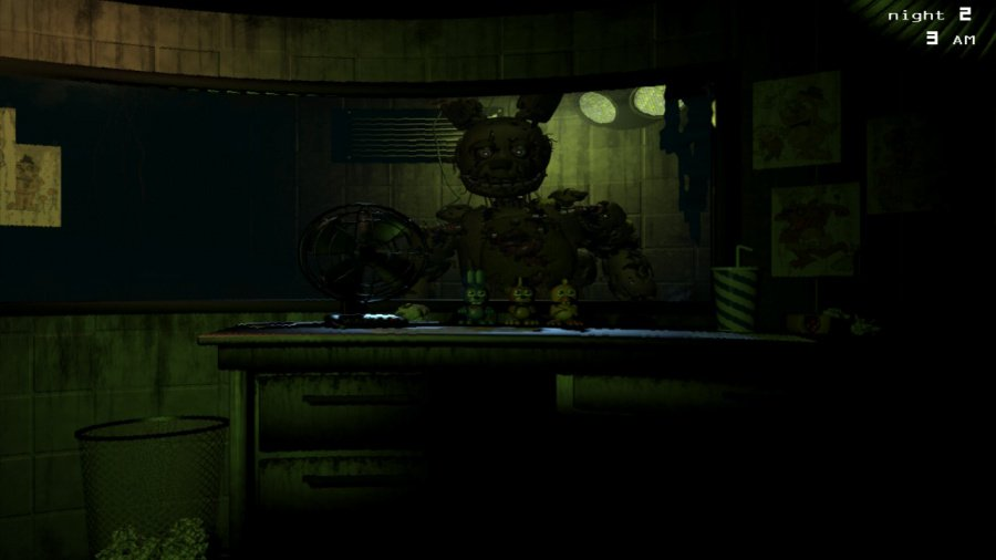 Five Nights at Freddy's 3 Review - Screenshot 1 of 8