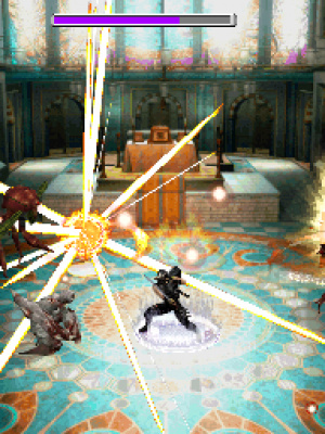 Ninja Gaiden: Dragon Sword Review - Screenshot 2 of 4