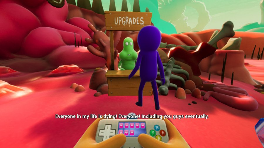 Trover Saves The Universe Review - Screenshot 5 of 5
