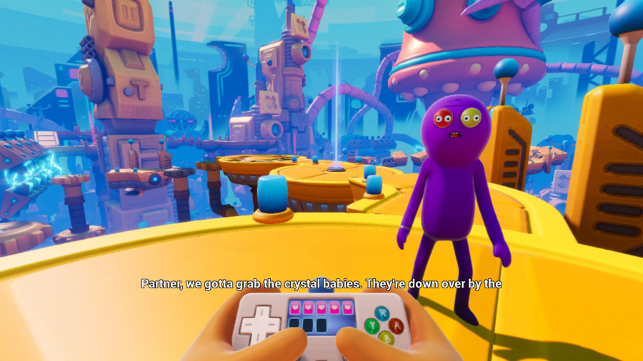Trover Saves The Universe Review - Screenshot 3 of 5