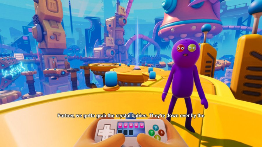 Trover Saves The Universe Review - Screenshot 4 of 5
