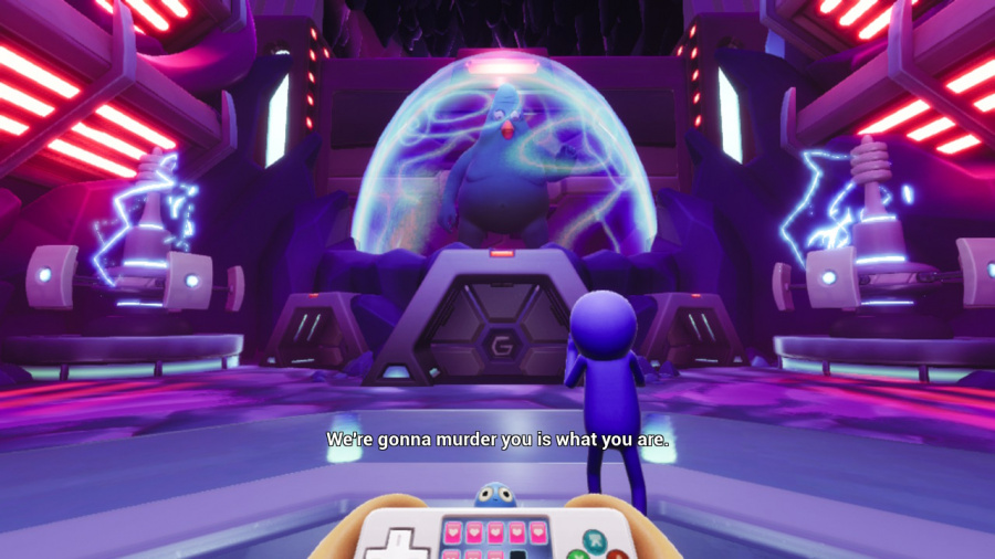 Trover Saves The Universe Review - Screenshot 1 of 5