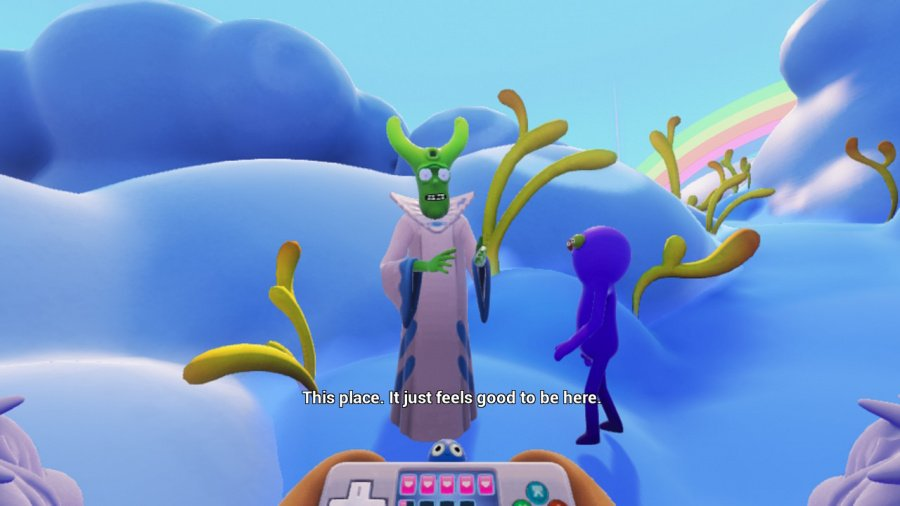 Trover Saves The Universe Review - Screenshot 2 of 5