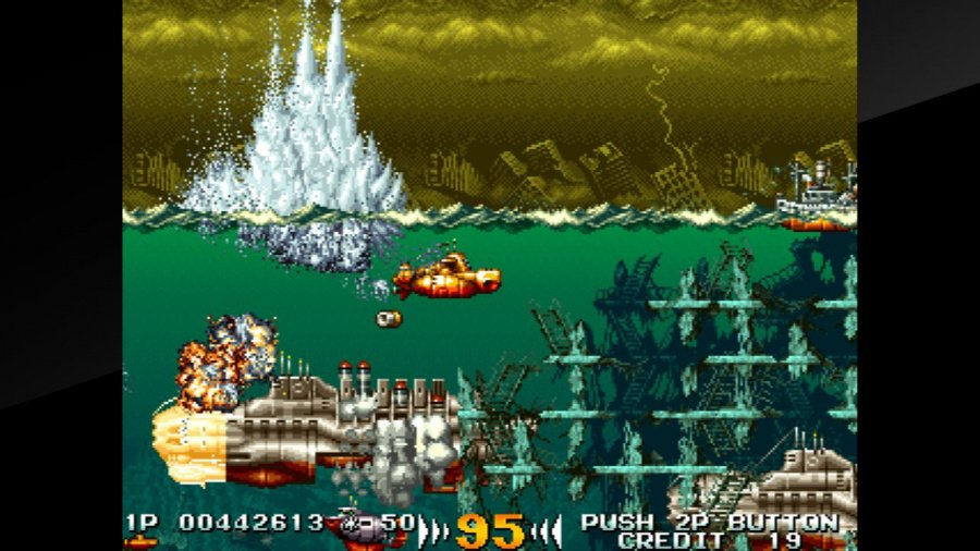 Arcade Archives In The Hunt Review - Screenshot 3 of 4