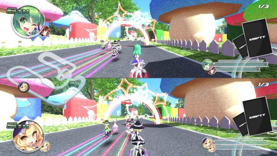 Gensou SkyDrift Review - Screenshot 4 of 4