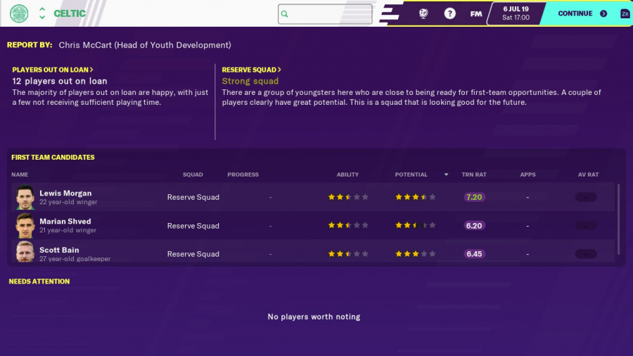 Football Manager 2020 Touch Review - Screenshot 3 of 5