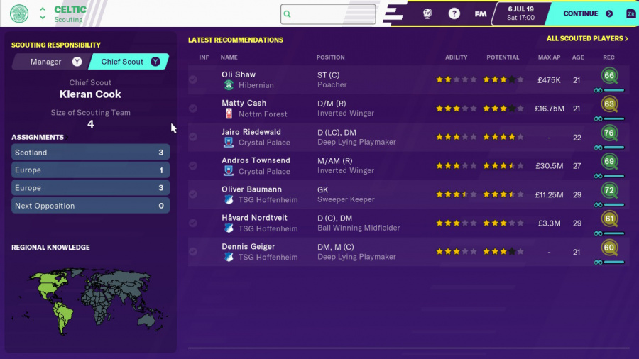Football Manager 2020 Touch Review - Screenshot 1 of 5