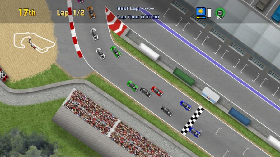 Ultimate Racing 2D Review - Screenshot 1 of 10