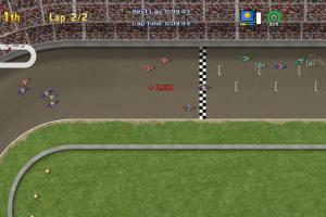 Ultimate Racing 2D Screenshot