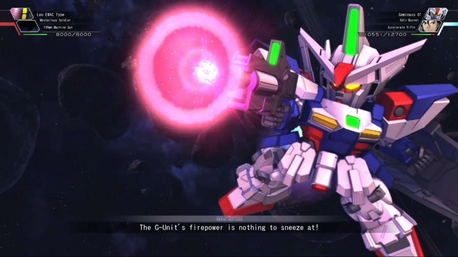 SD Gundam G Generation Cross Rays Review - Screenshot 3 of 6