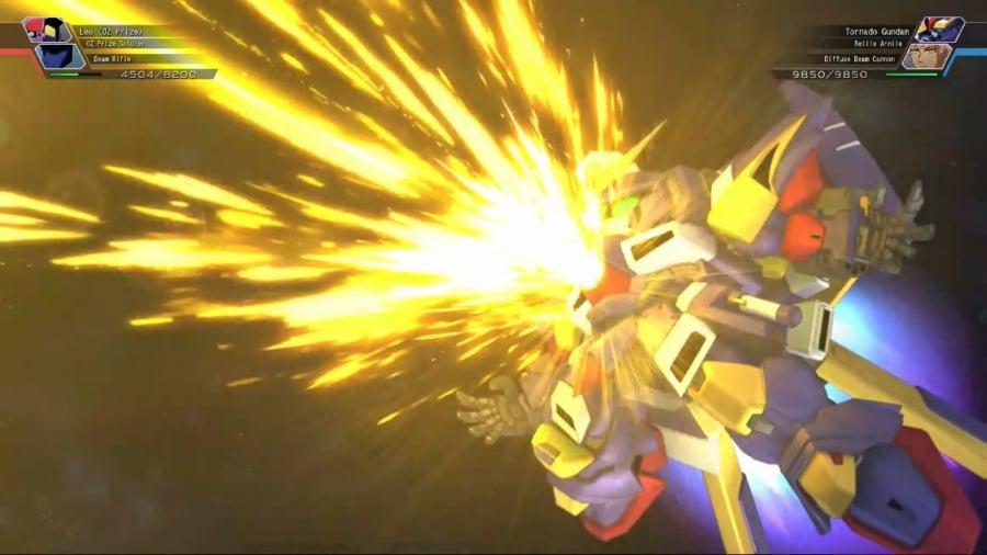 SD Gundam G Generation Cross Rays Review - Screenshot 6 of 6