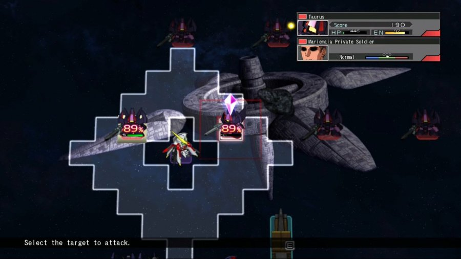 SD Gundam G Generation Cross Rays Review - Screenshot 1 of 6