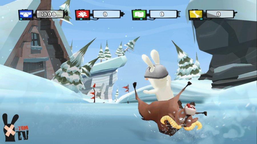 Rayman Raving Rabbids TV Party Review - Screenshot 1 of 5