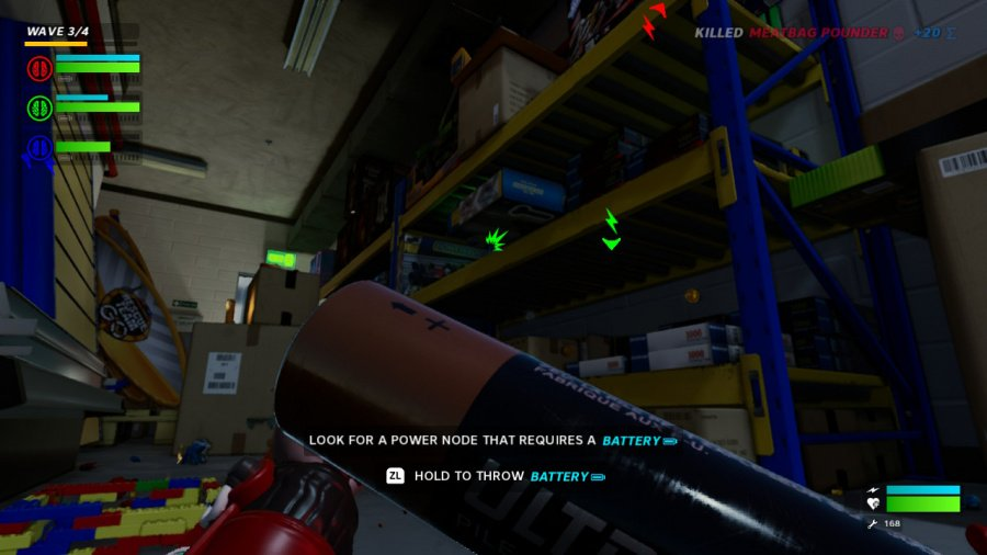HYPERCHARGE: Unboxed Review - Screenshot 2 of 4