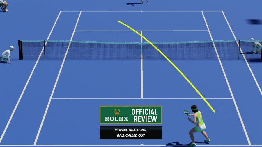 AO Tennis 2 Review - Captura de pantalla 4 de 7