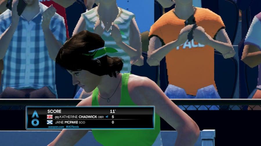 AO Tennis 2 Review - Captura de pantalla 3 de 7