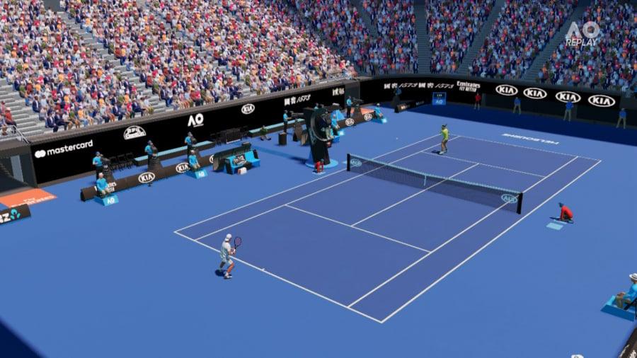 AO Tennis 2 Review - Screenshot 1 of 7