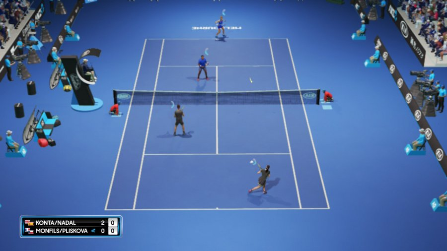 AO Tennis 2 Review - Screenshot 3 of 7