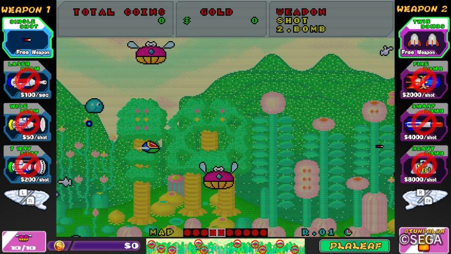 SEGA AGES Fantasy Zone Review - Screenshot 3 of 4