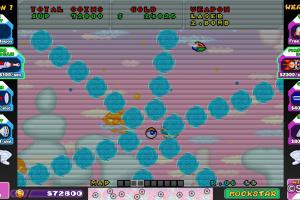 SEGA AGES Fantasy Zone Screenshot