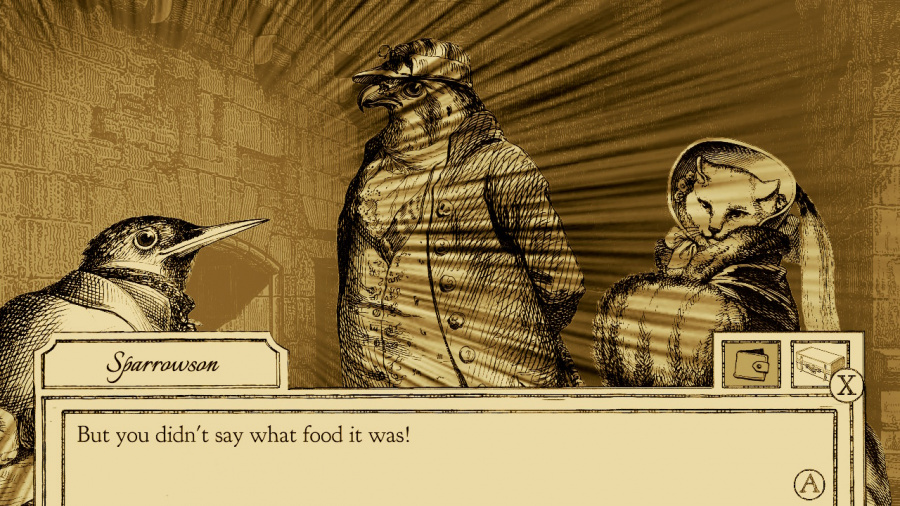 Aviary Attorney: Definitive Edition Review - Screenshot 2 of 3