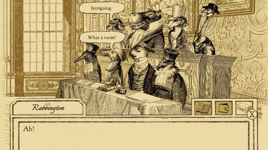 Aviary Attorney: Definitive Edition Review - Screenshot 1 of 3