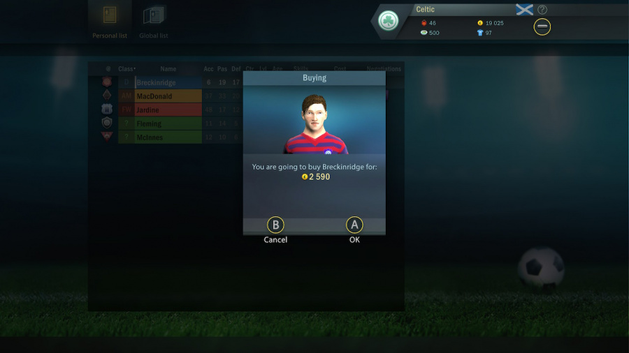 Soccer, Tactics & Glory Review - Screenshot 1 of 6