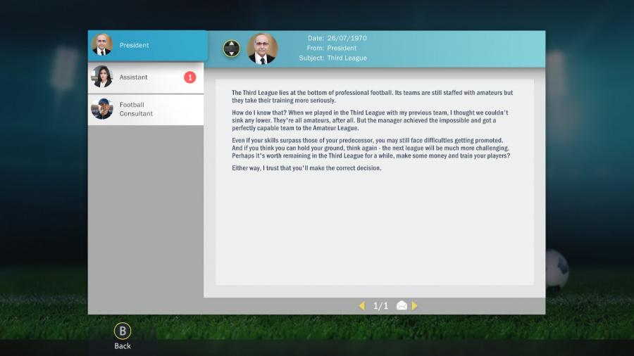 Soccer, Tactics & Glory Review - Screenshot 5 of 6