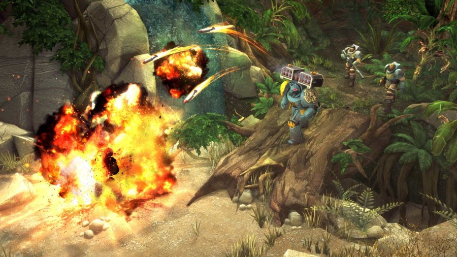 Warhammer 40,000: Space Wolf Review - Screenshot 1 of 3