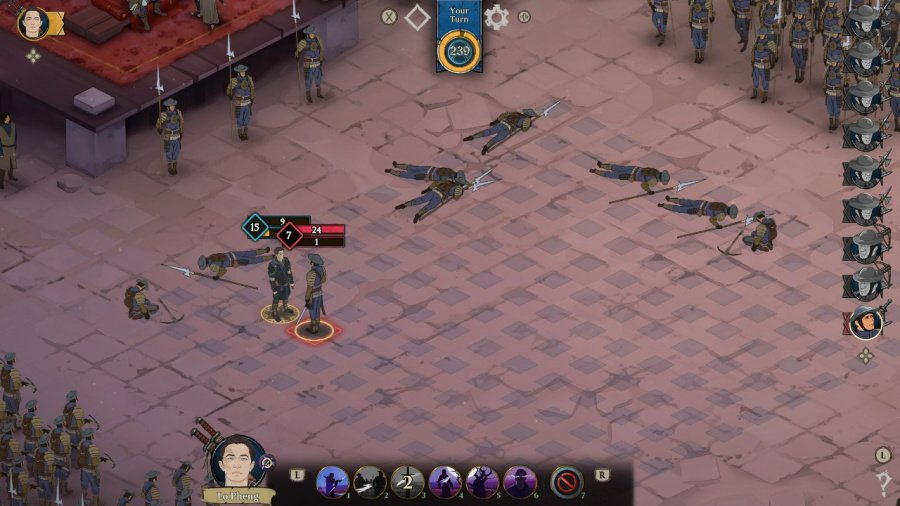 Ash of Gods: Redemption Review - Screenshot 1 of 5