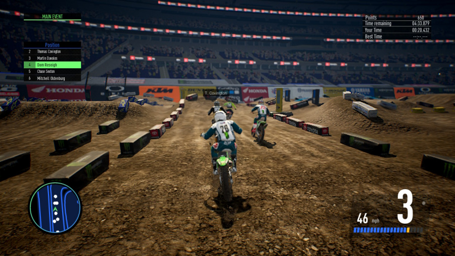 Monster Energy Supercross - The Official Videogame 3 Review - Screenshot 4 of 4