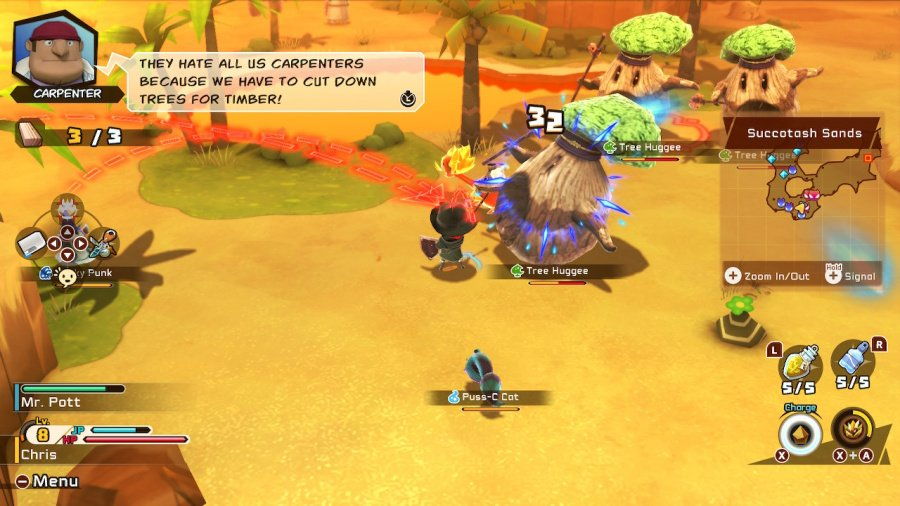 Snack World: The Dungeon Crawl - Gold Review - Screenshot 1 of 6