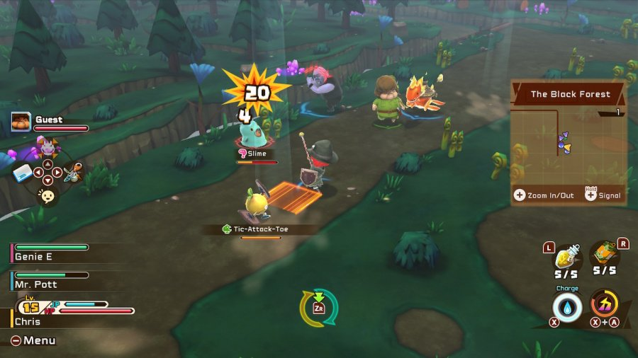 Snack World: The Dungeon Crawl - Gold Review - Screenshot 1 of 7