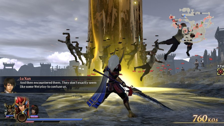 Warriors Orochi 4 Review - Screenshot 2 of 4