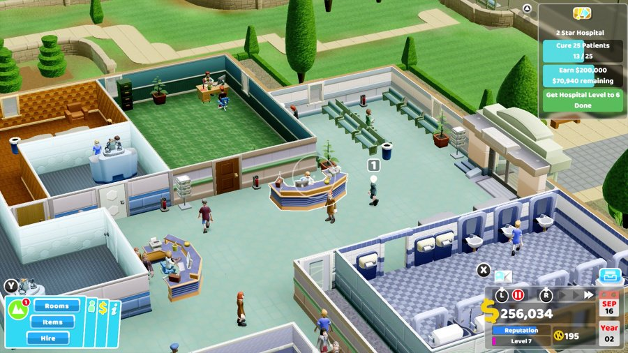 Two Point Hospital Review - Screenshot 3 of 5