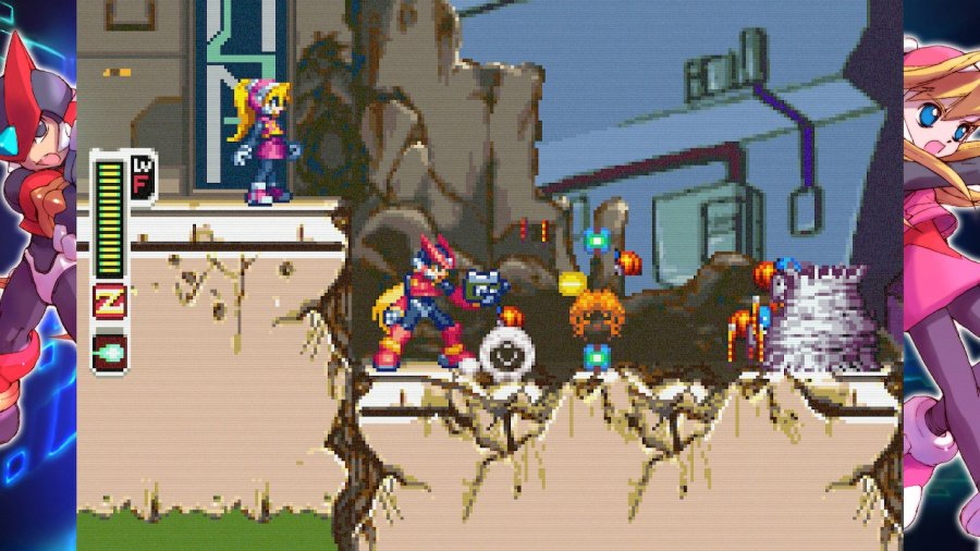 Mega Man Zero/ZX Legacy Collection Review - Screenshot 1 of 5