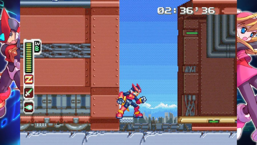 Mega Man Zero/ZX Legacy Collection Review - Screenshot 3 of 5