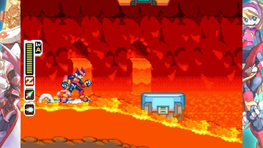 Mega Man Zero/ZX Legacy Collection Review - Screenshot 1 of 5