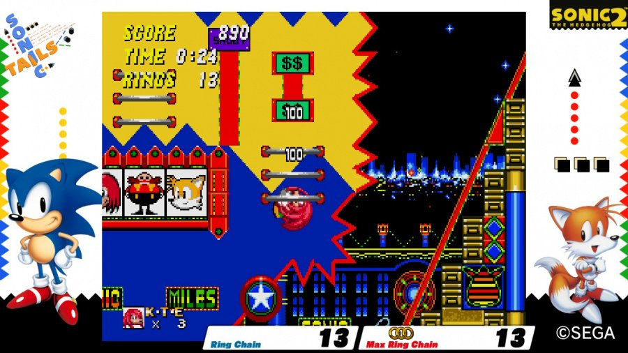 SEGA AGES Sonic The Hedgehog 2 Review - Screenshot 2 of 4